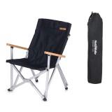 Naturehike PVC Oxford Folding Chair Ultra-Light Fishing Chair Camping Picnic BBQ Seat Max Load 120kg