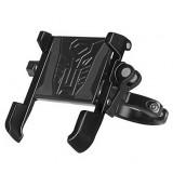 BIKIGHT 63.3-93.6mm Bike Phone Holder Aluminum 360 Rotation Bicycle Handlebar Phone Navigation Mount