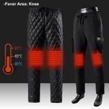 5V USB Men Women Cotton Electric Heated Warm Pants Warmer Heating Elastic Trouser