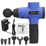 2600mAh Percussion Massager Deep Tissue Massager Muscle Relaxing Machine w/6 Head/5 Speeds EU Plug