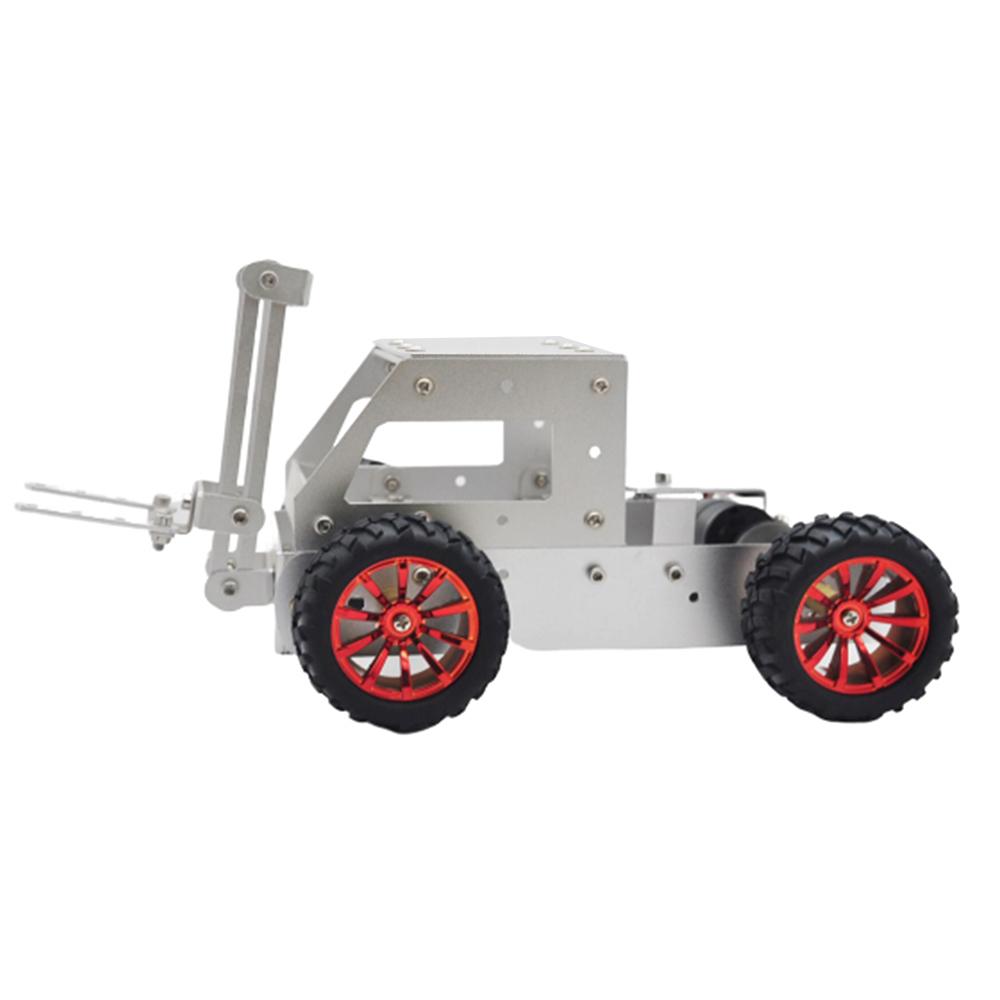 C-5 DIY Forklift Truck Car Aluminous Smart RC Robot Car Chassis Base Kit