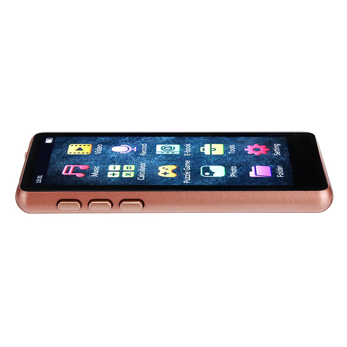 Mahdi M9 bluetooth 5.0 8GB Lossless MP3 MP4 Player 3.5inch HD IPS Full Screen External Speaker Ebook TF Card Music Player