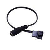 30cm DC5521 to 4Pin CPU Cooling Fan Power Cable Power Adapter Extension Lead Wire for Computer Heat Dissipation