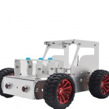 DIY Tractor Aluminous Smart RC Robot Car Chassis Base Kit