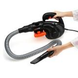 1800W 220V Handheld Air Blower Vacuum 6-Speed Adjustable Car Garden Dust Leaf Vacuum Cleaner