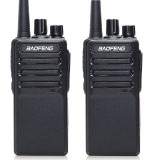 2pcs Baofeng BF-V9 Mini Walkie Talkie USB Fast Charge 5W UHF 400-470MHz Ham CB Portable Two Way Radio