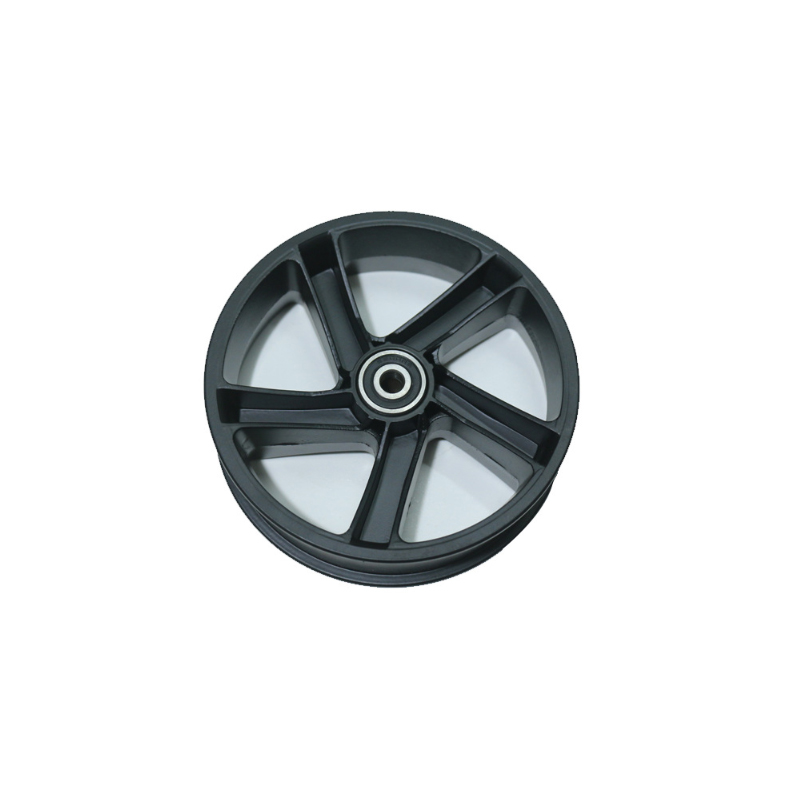 BIKIGHT Wheel Hub Tire Set For Ninebot ES1 ES2 ES3 ES4 Electric Scooter Aluminum Alloy Anti-Skidding Scooter Tire Wheels