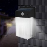 Solar Power 50 LED PIR Motion Sensor Wall Light Waterproof Outdoor Path Yard Garden Security Lamp