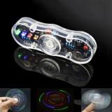 DIY Electronic POV Rotate Fingertip Gyro Soldering Kit Colorful LED Electronic Training Part