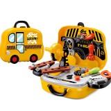 23PCS Children's Maintenance Tools Kit Set Repair Tool Suitcase Kids' Educational Repair Toys Gift