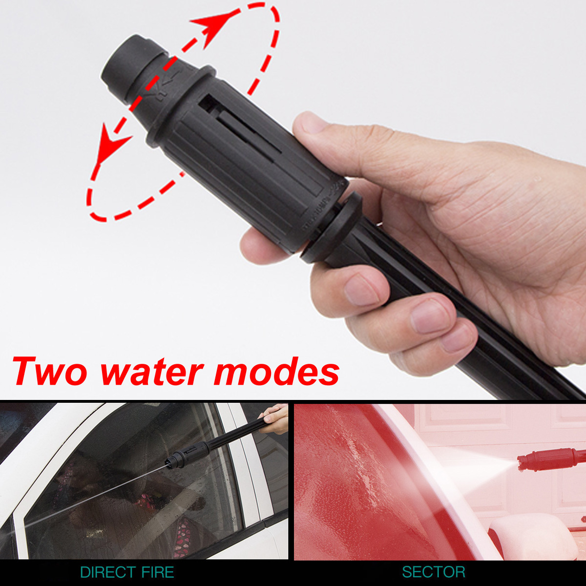 12V Car Washer Pump High Pressure Spray Gun Car Washing Machine Pressure Cleaner 12V