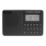 Portable FM AM SW Full Band Dual Antenna Radio U Disk TF Card MP3 Music Player
