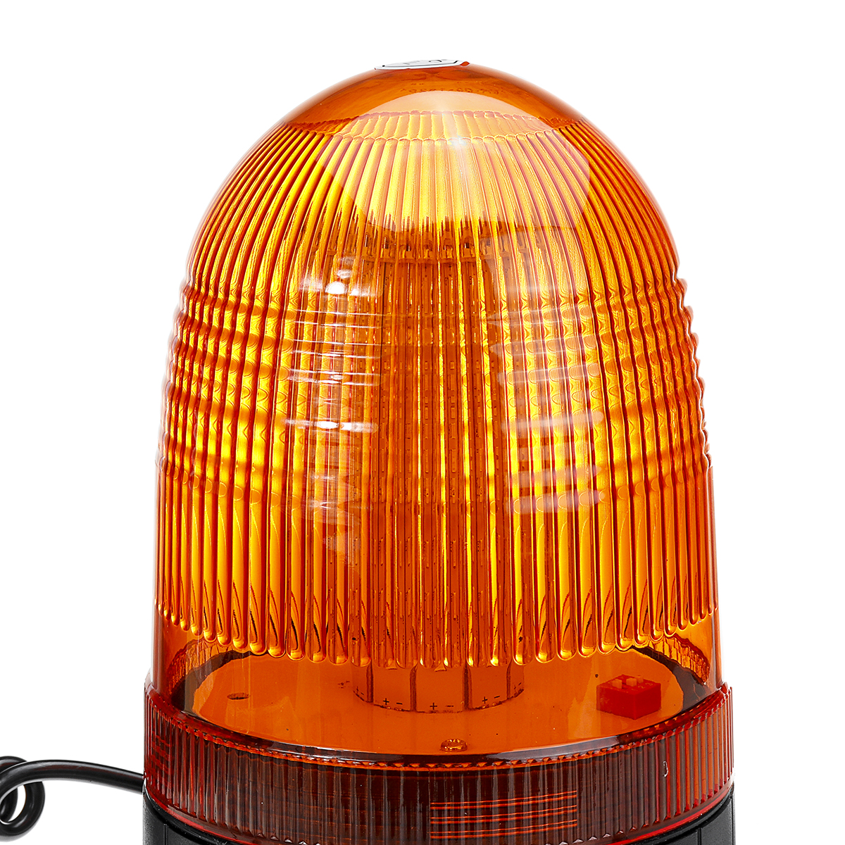 DC12-24V 80LED Magnetic Roof Rotating Flash Amber Beacon Strobe Tractor Warning Signal Light
