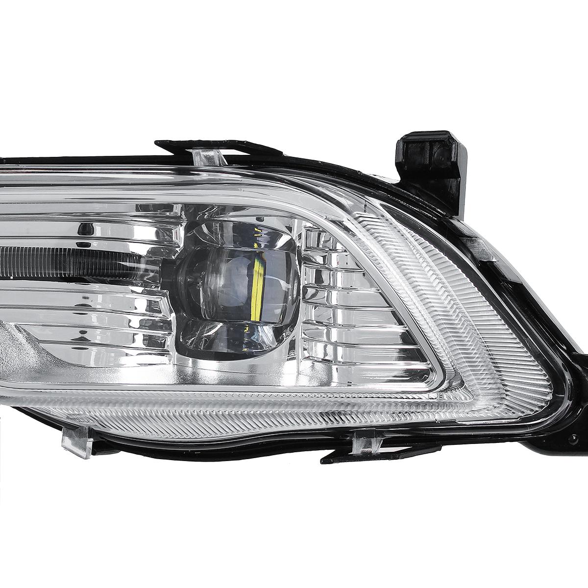 Car Left/Right LED Fog Lights For Ford Fusion Mondeo Explorer Sport