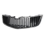 ABS Front Bumper Upper Grill Middle Lower Grille For Chevrolet Cruze 2015
