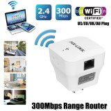 PIXLINK 300Mbps 2.4GHz Hot Wifi Repeater Wireless WiFi Range Extender Repeater Router Signal Booster AP Mode EU AU UK US Plug