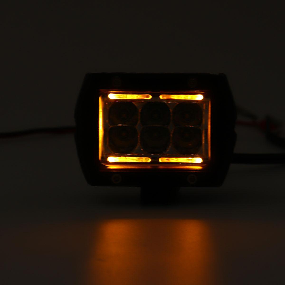 4'' Inch 60W LED Work Light Bar Spot Flood Combo Beam Offroad Car Truck Boat Driving Lamp