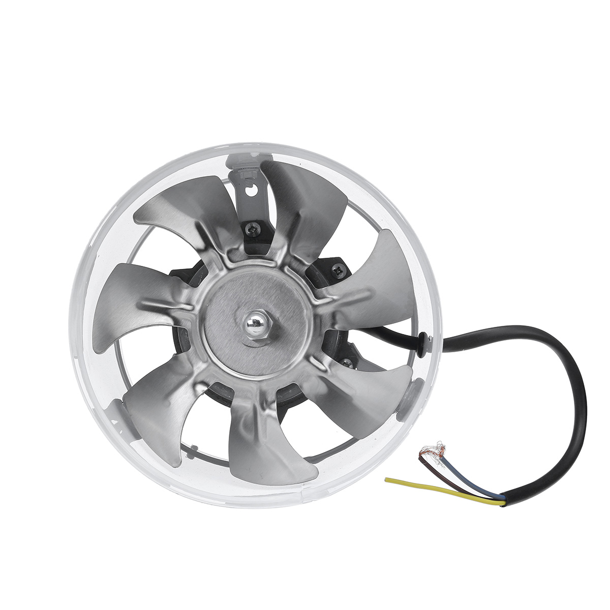 40W 6Inch Inline Duct Fan Booster 150mm Exhaust Blower Air Cooling Vent Ventilation Fan 1080m/ h