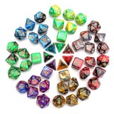 7PCS Polyhedral Dices Set For Dungeons & Dragons Dice Desktop TRPG Game Dices