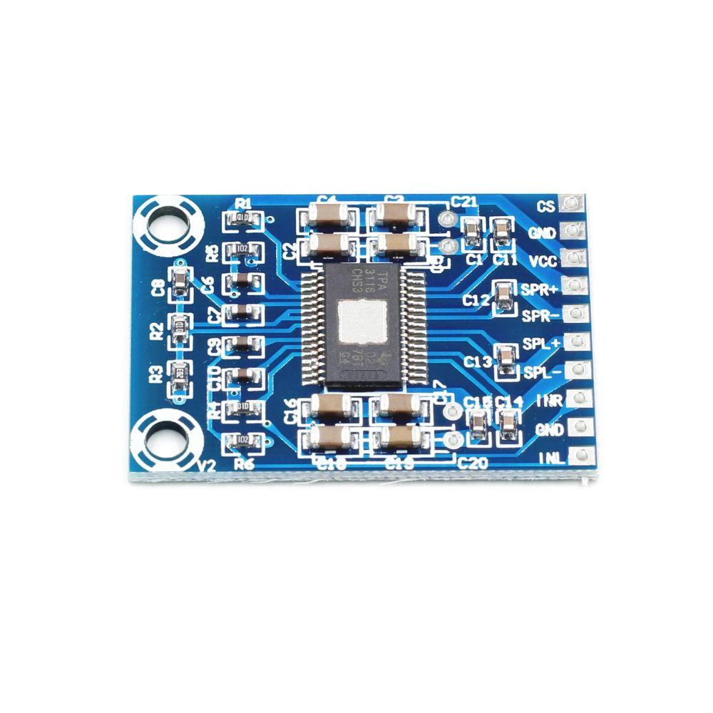 XH-M562 TPA3116D2 50W+50W Dual Channel Mini Digital Amplifier Class D Amplifier 50W Power Amplifier Board DC 12V-24V 2x50W