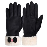 Womens Touch Screen Gloves Winter Windproof Thermal Warm Driving Skiing Full-finger Gloves