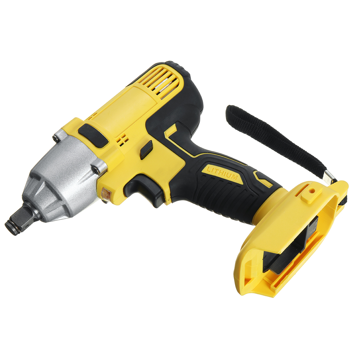 18V Cordless Impact Wrench 3000R/MIN High Torque Impact Wrench Tool Adapted To 18V Makita Battery