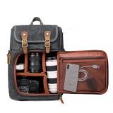 40L 600D Oxford Tactical Backpack Travel Camera Storage Bag Waterproof Shoulder Bag