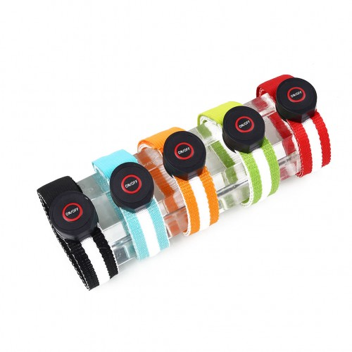 XANES Night Running Sports Reflective LED Light Belt Arm leg Wristband Riding Hiking Glowing Band