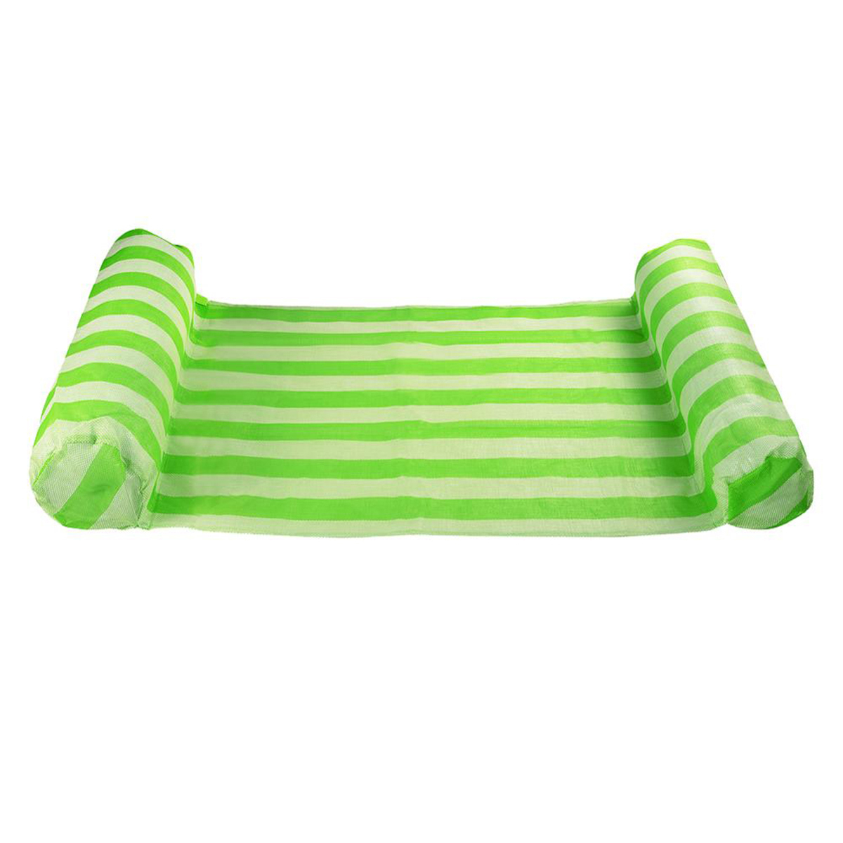 132*70CM Summer Inflatable Float Row Swimming Pool Lounge Chair Water Sports Floating Hammock