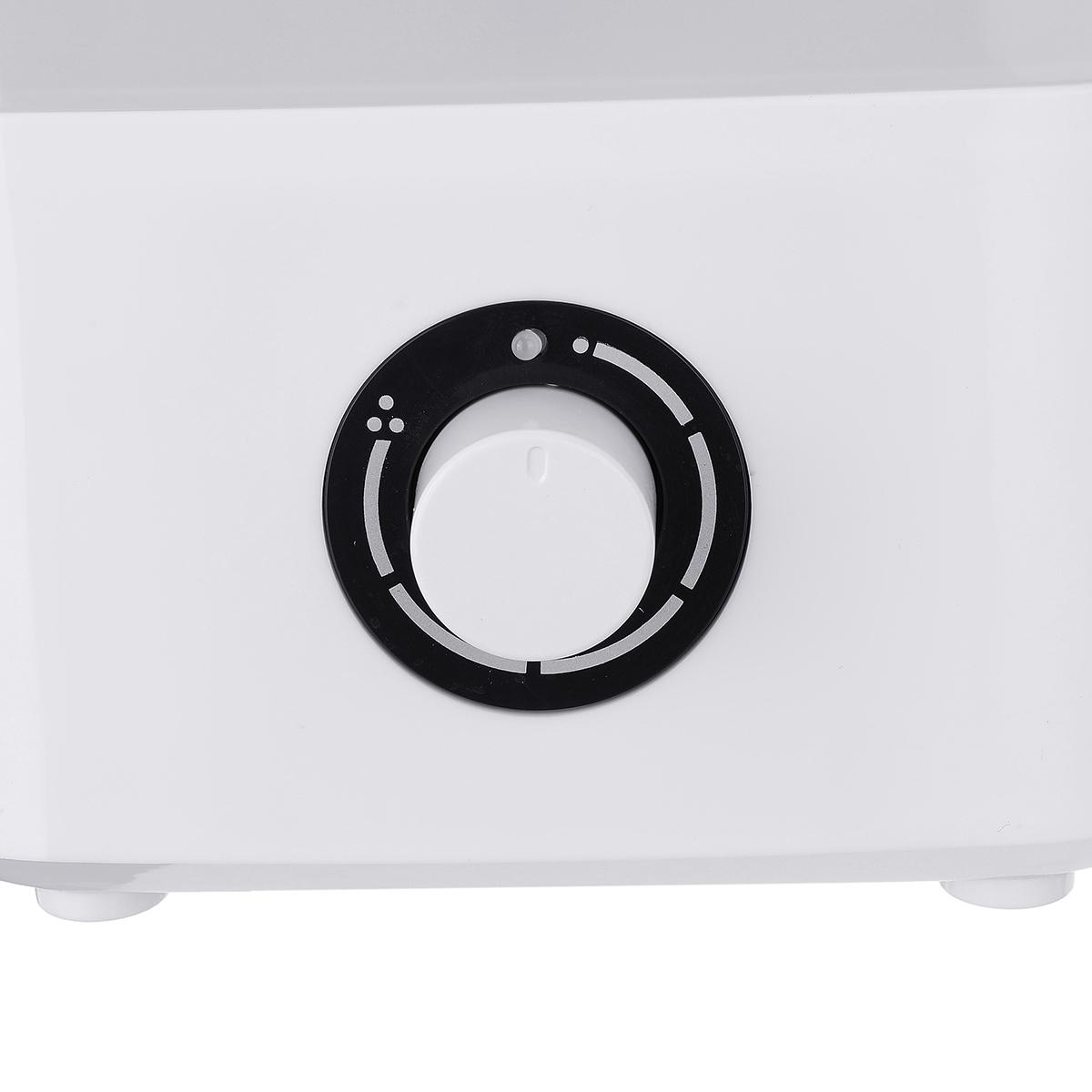 4L 300ml/hr Ultrasonic Humidifier 360 Cool Mist Diffuser Air Purifier