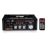G20 Mini 600W Digital bluetooth Stereo Amplifier Support HIFI USB FM MIC SD Port 12V 110-220V for Car Home