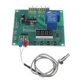 YYW-2 0-1024 Temperature Sensor Temperature Control Relay Detection High Temperature Serial Output with K Type Thermocouple 30A