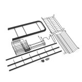 Shelf Dish Stainless Holder Steel Sink Drain Rack Kitchen Cutlery Drying Drainer Storage Rack