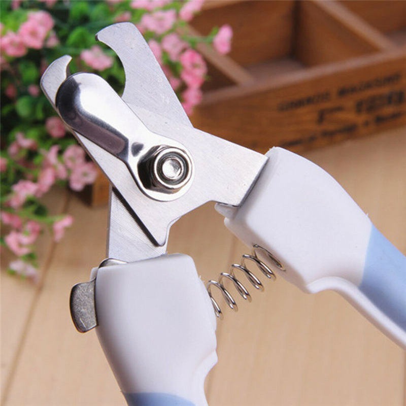 Pet Nail Clippers Cutter for Dogs Cats Birds Claws Scissor Cut with File Animal Cat Nail Clippers Dog Grooming Tools