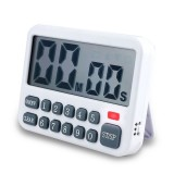 Loskii Electric Kitchen Timer Home Reminder Baking Timer 9 Hours/99 Minutes Countdown Timer
