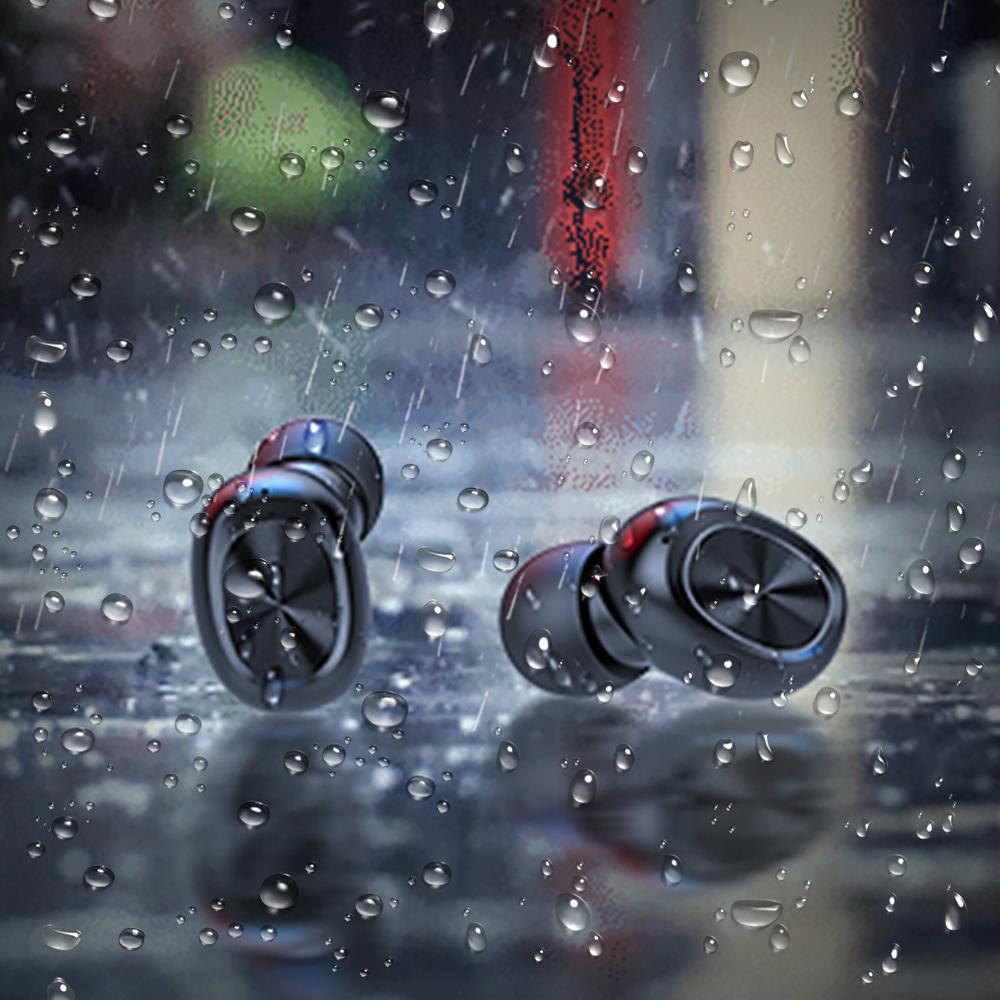 Bakeey B5 wireless bluetooth 5.0 TWS Earbuds Digital Display Earphone Waterproof Stereo Sport Music Headphones