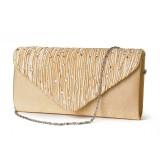 Women Fashion Shining Envelope Party Wedding Shoulder Bag Crossbody Bag Clutches Bag Phone Bag