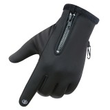 Touch Screen Gloves Fleece Winter Warm Outdoor Sports Mountain Biking Windproof Waterproof Fleece Lined Thermal