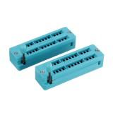 2pcs IC Lock Seat Zif Socket Test Universal zif Sockets 28Pin Narrow