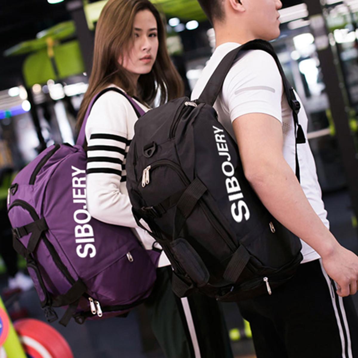 Sports Gym Backpack Wet Dry Separation Waterproof Yoga Handbag Leisure Fitness Travel Duffel Bag