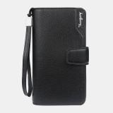 Baellerry Fashion Long Zipper Wallet Clutches Bag Phone Bag For Men