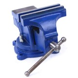 50/60/70/80mm Upgraded 360 Degree Swivel Clamp Base Vise Woodworking Table Top Clamp Vice with Anvil