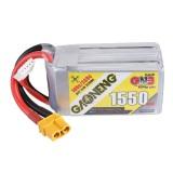 Gaoneng GNB 14.8V 1550mAh 100C 4S Lipo Battery XT60U-F Plug for TransTEC Laser Lite FPV Frame Racing Drone