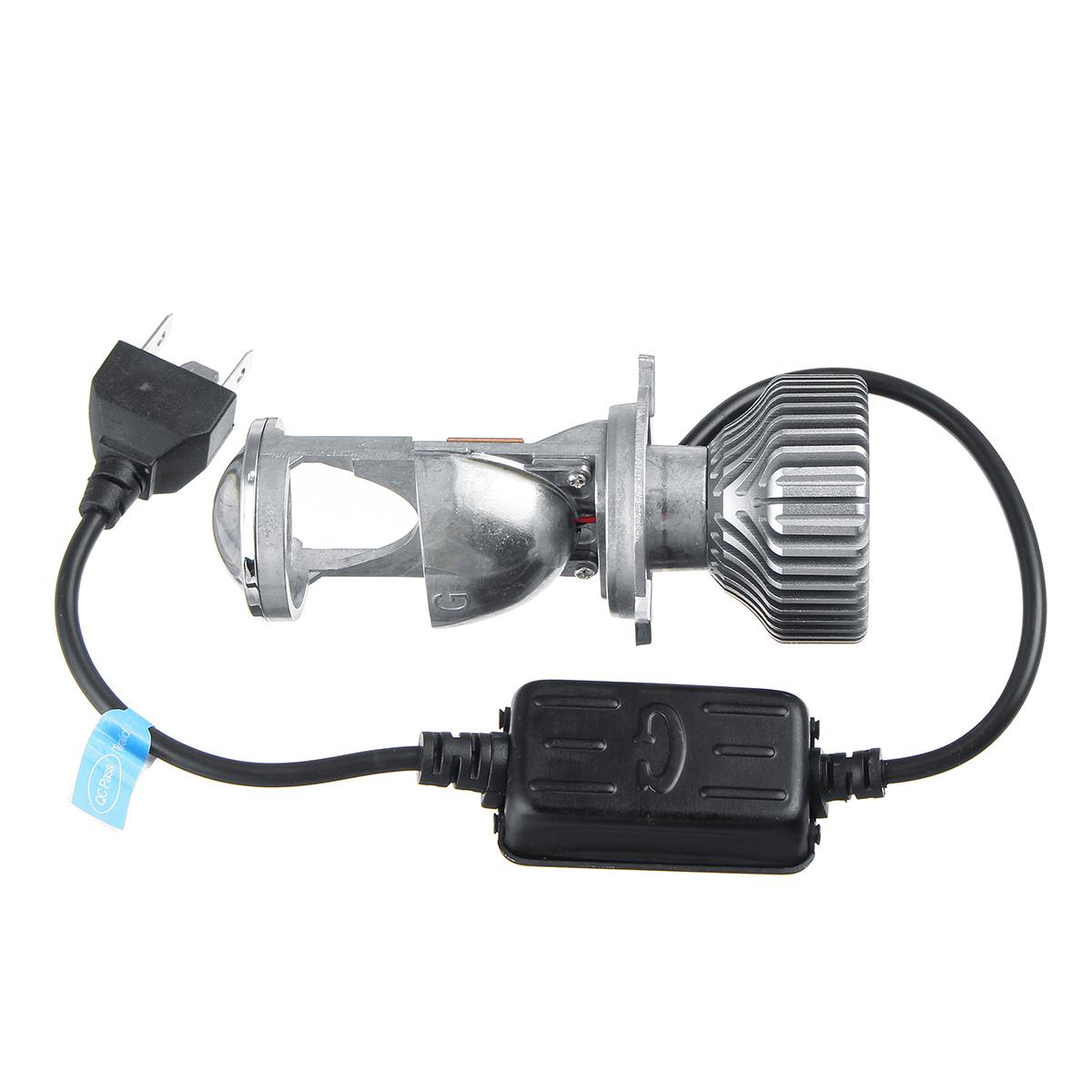 G1 46W H4 LED Lens Projector Headlights Bulb High Low Dual Beam 6000K White 2PCS 12V for LHD/RHD Car Motorcycle