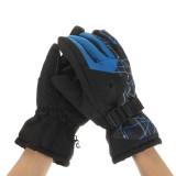 Mens Winter Skiing Gloves Waterproof Thermal Warm Snowboard Running Bike Ski Mittens