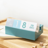 2020 Creative Plastic Square Desk Calendar Desktop Decoration Flip Block Desktop Calendar