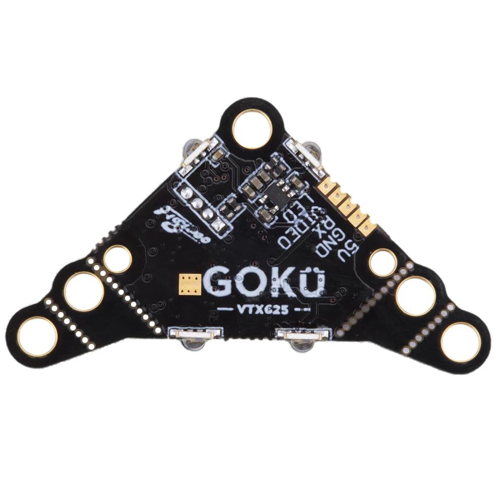 Flywoo GOKU VTX625 PIT/25mW/50mW/100mW/200mW/450mW VTX Switchable 5V 16mm/20mm/30.5mm Mounting Hole