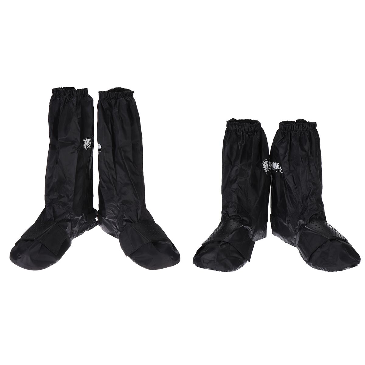 2Pair Reusable Rain Snow Shoe Cover Waterproof Overshoes Boot Anti-Slip Foldable