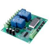 YYB-5 12V 24V Motor Forward Reverse Motor Speed Controller Board Two Relay Delay Timing Cycle Module DIY Motor