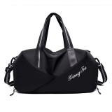 Multifunction Dry Wet Seperation Shoulder Bag Fitness Yoga Bag Independent Shoes Bag Travel Bag